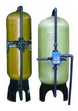 Activated Carbon Water Filter, Stainless / Mild Steel